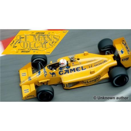 Lotus 99T  - GP Monaco 1987 nº11