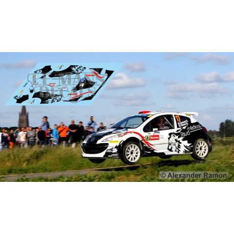 Peugeot 207 S2000 - Rallye Ypres 2014 nº17