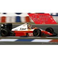 Zakspeed 891  - GP Inglaterra 1989 nº34