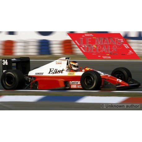 Zakspeed 891 NSR Formula  Slot - GP Alemania 1989 nº34