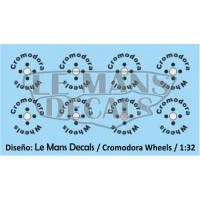 Cromodora Wheels Type 1 - 4 screws - Black