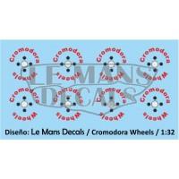 Cromodora Wheels Type 1 - 4 screws - Red