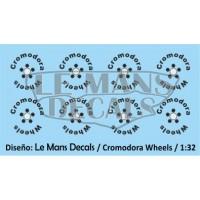 Cromodora Wheels Type 1 - 5 screws - Black
