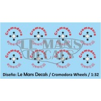 Cromodora Wheels Type 2 - 4 screws - Black