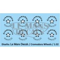 Cromodora Wheels Type 2 - 5 screws - Black