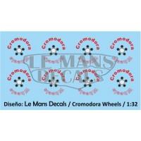 Cromodora Wheels Type 2 - 4 screws - Red
