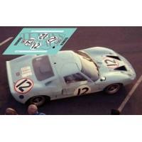 Ford GT 40 - Le Mans 1966 nº12