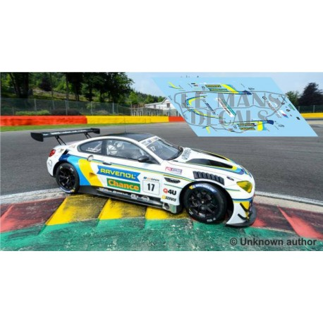 BMW M6 GTLM - GT Open Spa 2018 nº17