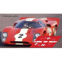 Lola T70 MkIIIb - Le Mans 1969 nº2