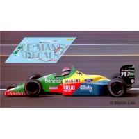 Benetton B189 NSR Formula  Slot - Belgium GP 1989 nº20