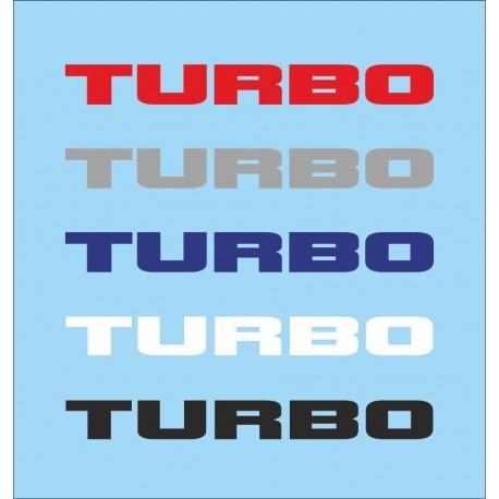 Renault Turbo Multicolor (x5)