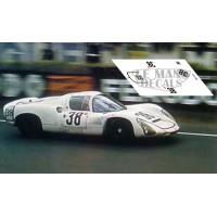 Porsche 910 - Le Mans 1967 nº38