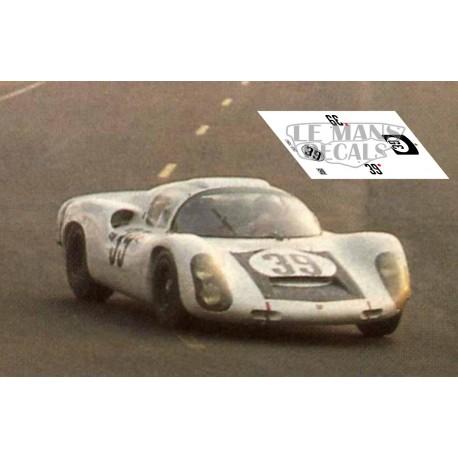 Porsche 910 - Le Mans 1967 nº39