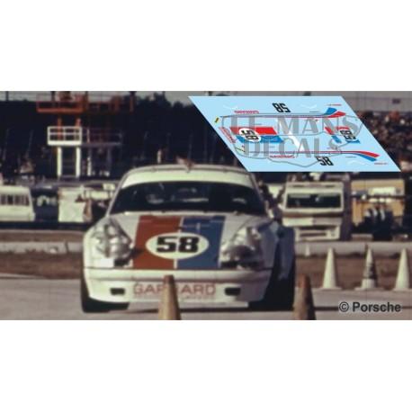 Porsche 911 S  - Daytona 1973 nº58
