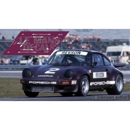 Porsche 911 RSR - IROC Daytona 1974 nº2