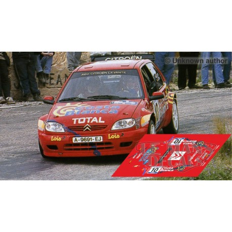Citroën Saxo Kit Car - Rally Villajoyosa 2001 nº10