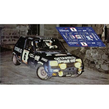 Renault 5 - Tour de Corse 1979 nº6