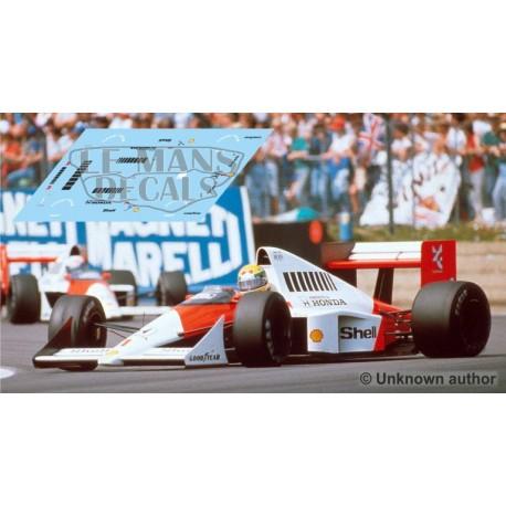 McLaren MP4/5 - GP Inglaterra 1989 nº1