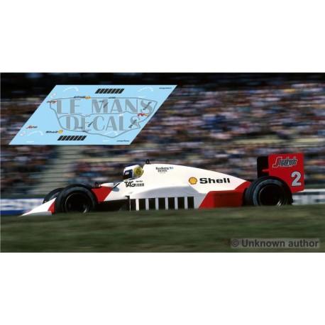 McLaren MP4/2C - GP Alemania 1986 nº1