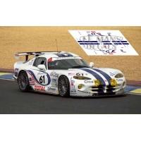 Chrysler Viper GTS - Le Mans 1997 nº61