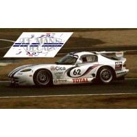 Chrysler Viper GTS - Le Mans 1997 nº62