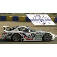 Chrysler Viper GTS - Le Mans 1997 nº63