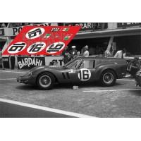 Ferrari 250 GT SWB Breadvan - Le Mans 1962 nº16