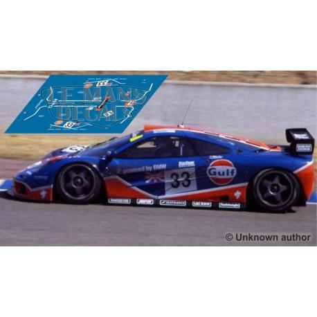McLaren F1 GTR - Le Mans 1996 nº33