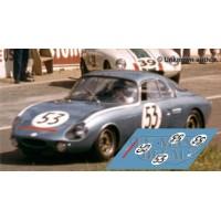Rene Bonnet AeroDjet - Le Mans 1963 nº53