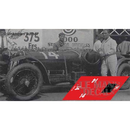 Alfa Romeo 8C 2300 LM - Le Mans 1931 nº14
