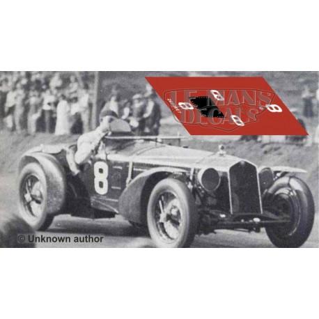 Alfa Romeo 8C 2300 LM - Le Mans 1932 nº8