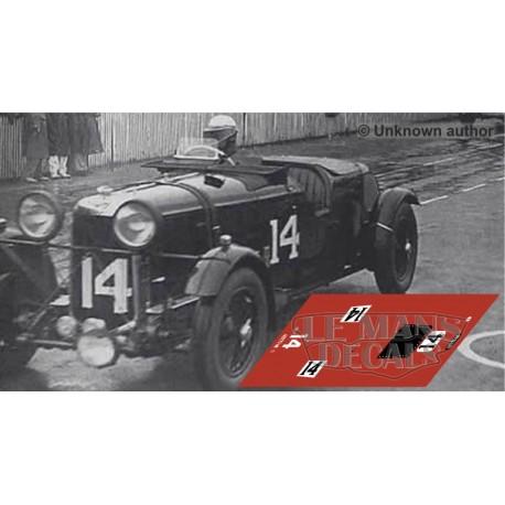 Alfa Romeo 8C 2300 LM - Le Mans 1932 nº14