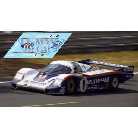 Porsche 956 - Le Mans 1982 nº1