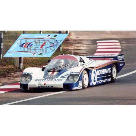 Porsche 956 - Le Mans 1982 nº2