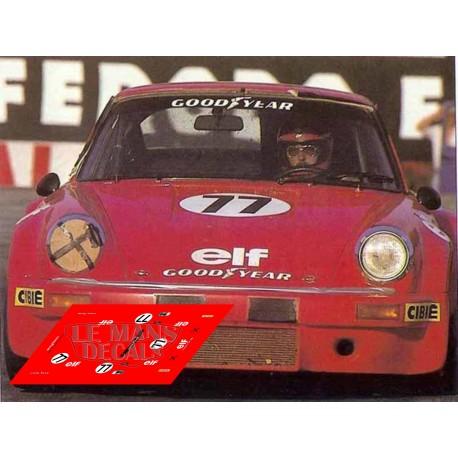 Porsche 911 Carrera RSR - Le Mans 1976 nº77