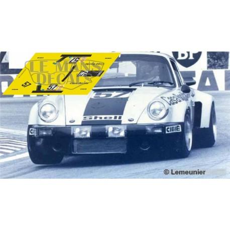 Porsche 911 Carrera RSR - Le Mans 1975 nº57