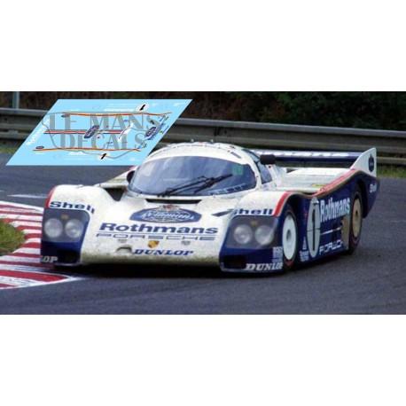 Porsche 962C - Le Mans 1985 nº1