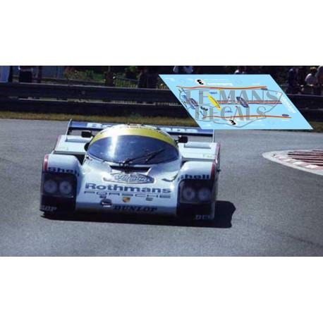 Porsche 962C - Le Mans 1985 nº3