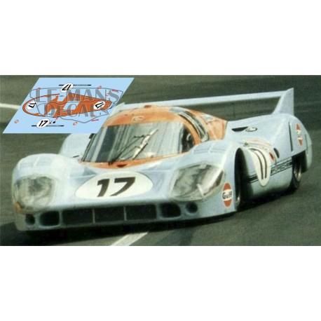 Porsche 917 LH - Le Mans 1971 nº17
