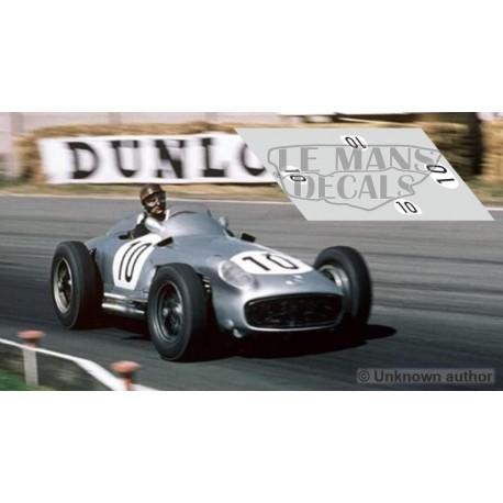 Mercedes W196 - GP Inglaterra 1955 nº10