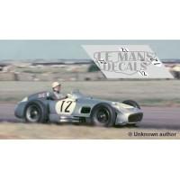Mercedes W196 - GP Inglaterra 1955 nº12