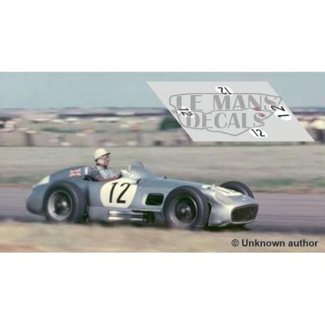 Mercedes W196 - British GP 1955 nº12