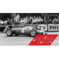 Ferrari 156 F1 - GP Bélgica 1961 nº6