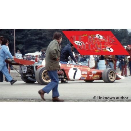Ferrari 312 B3 - USA GP nº7