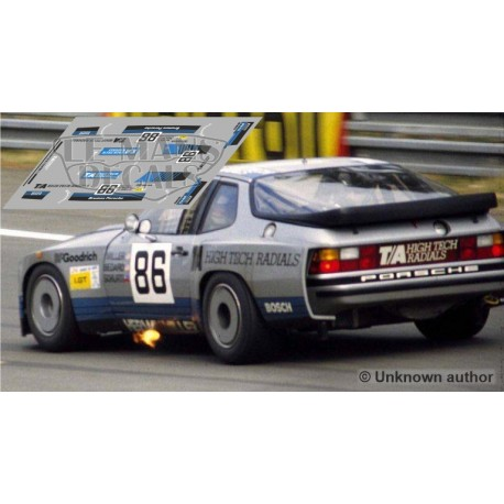 Porsche 924 GTR - Le Mans 1982 nº86