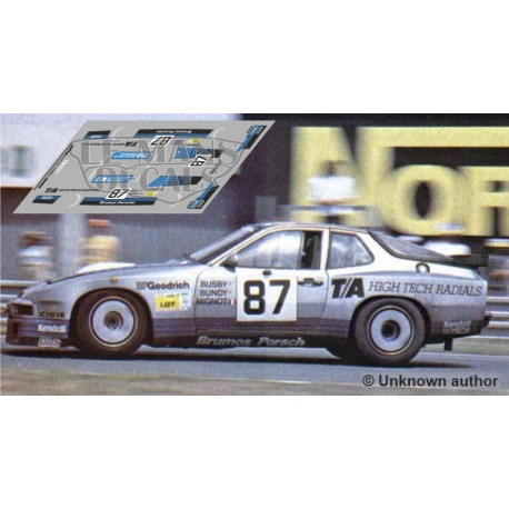 Porsche 924 GTR - Le Mans 1982 nº87