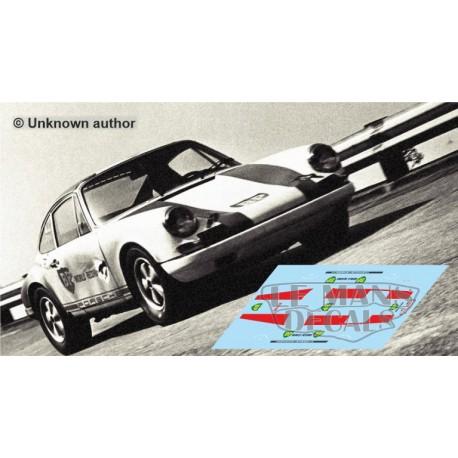 Porsche 911 R - Record Monza 1967