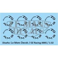 OZ Racing Wheels AMG - Black