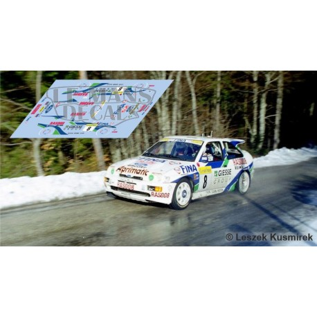 Ford Escort RS Cosworth - Rallye Montecarlo 1995 nº8