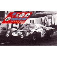 Ferrari Dino 206 S - Le Mans 1968 nº36